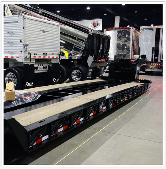 Picture of a trailer at the Midwest Truck and Trailer Show