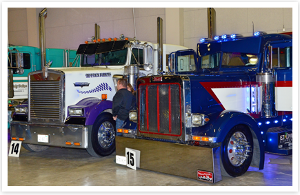 The Truckers Pride Contest Sponsored By Truck Insurance Specialist Inc Is A Fun Addition To An Already Great Mid West Trailer Show