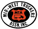 Logo for Midwest Truckers Association, Inc